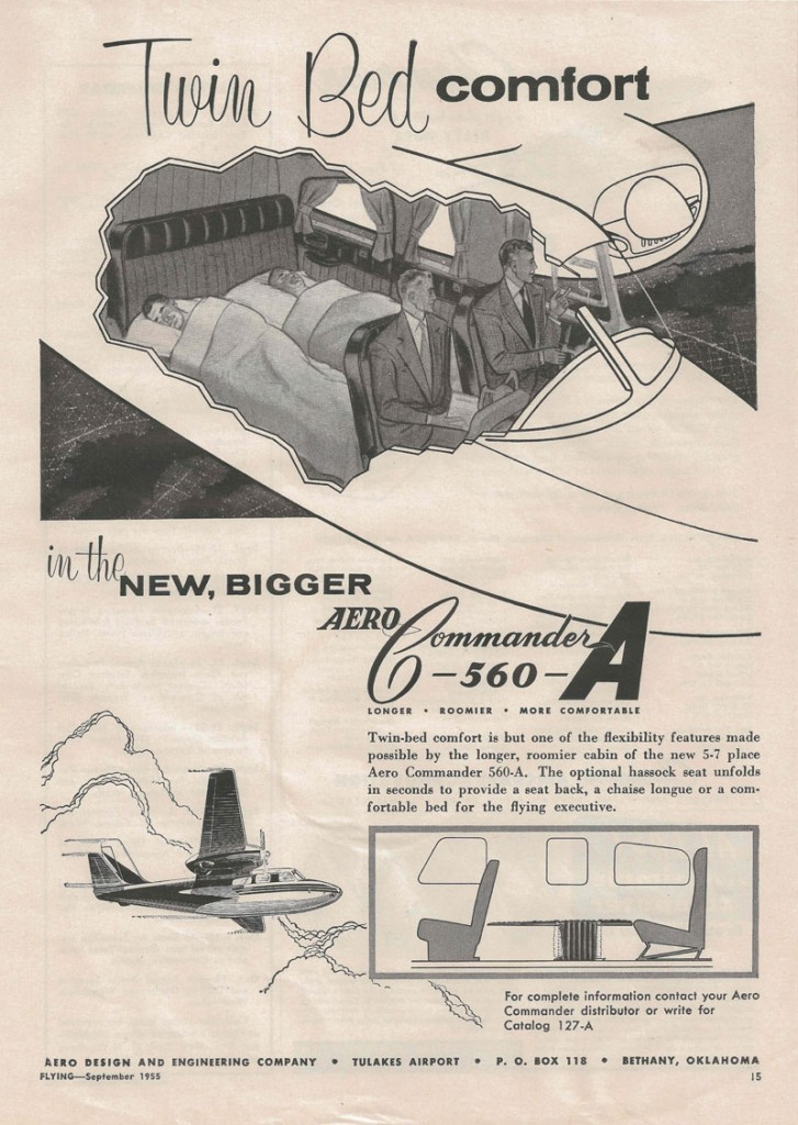 Aero Commander 560-A | Flying Magazine, September 1955