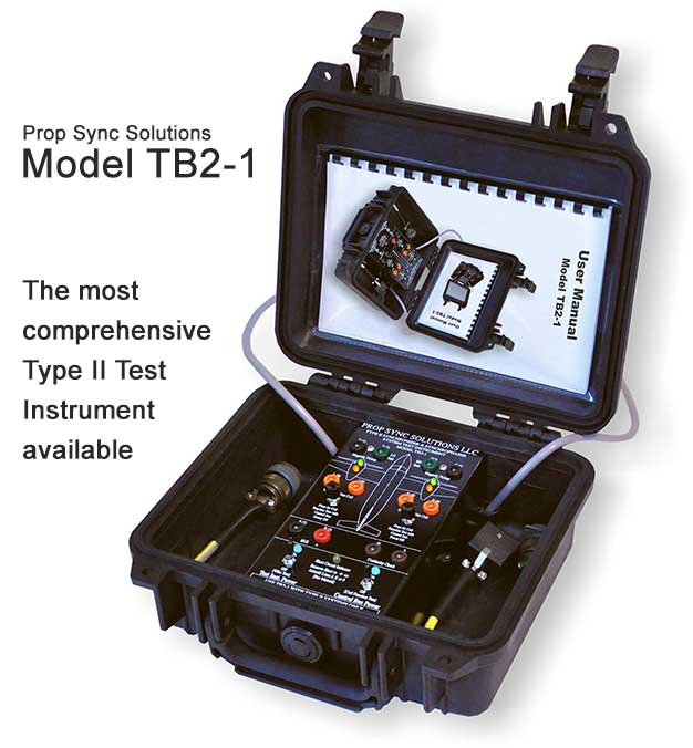 Prop Sync Solutions Model TB2-1 tester