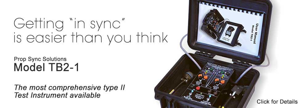 Prop Sync Testing Instrument