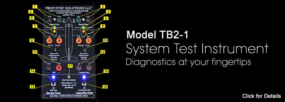 TB2-1 System Test Instrument Panel Detail